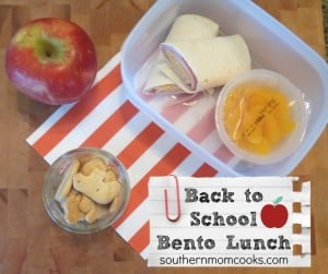 That's a Wrap: Back to School Lunch Idea