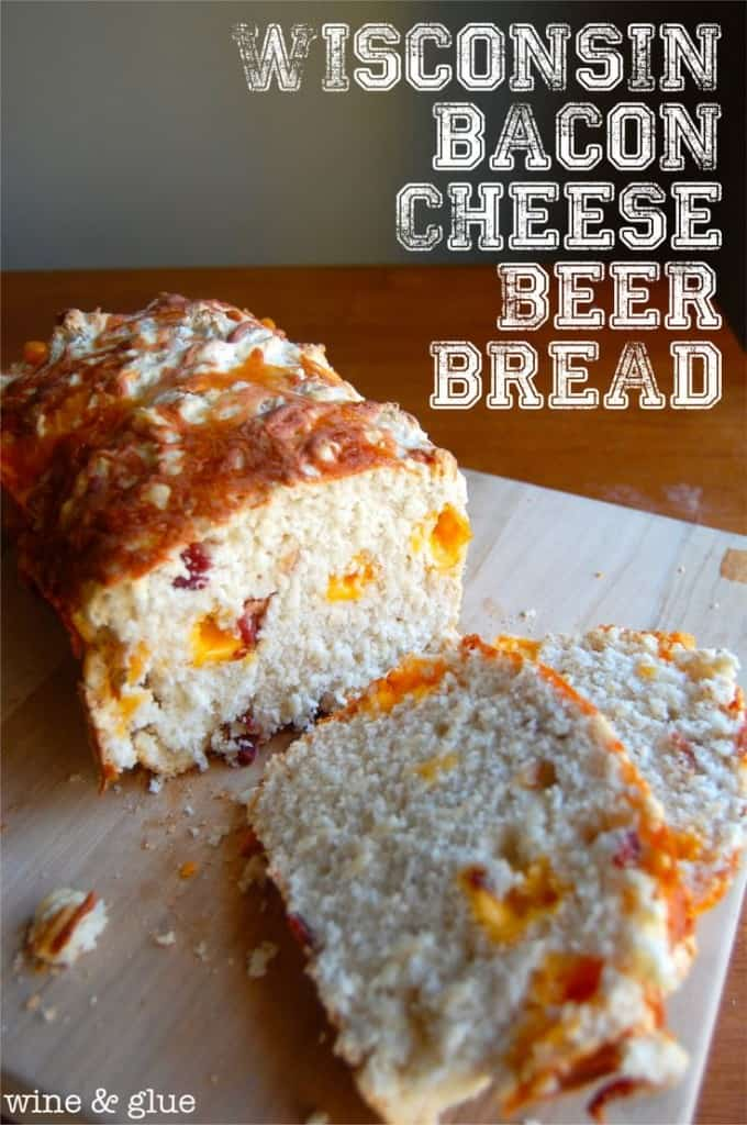 Wisconsin Bacon Cheese Beer Bread
