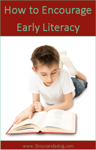 How To: Five Ways to Encourage Early Literacy