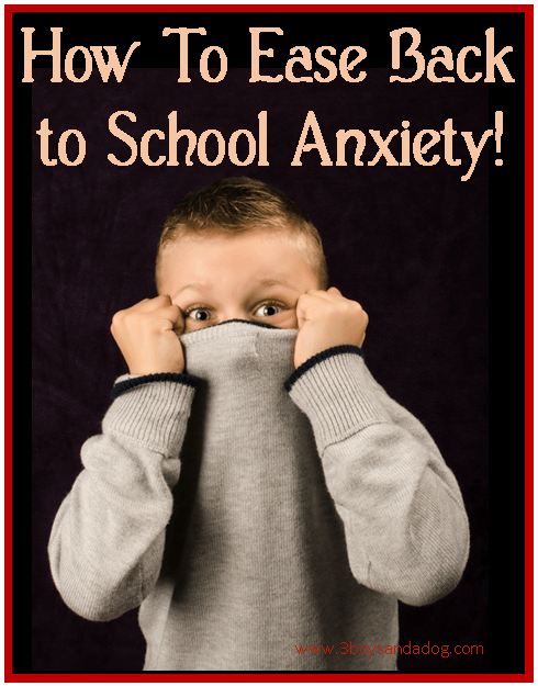 Strategies for Coping with Back-to-School Anxiety – 3 Boys ...