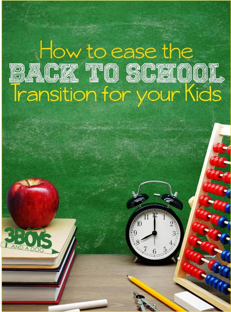 Top 10 Tips for Transitioning Back To School