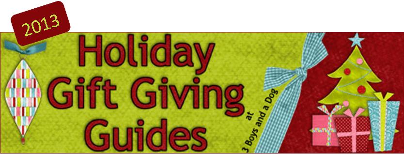 2013 Holiday Gift Ideas Schedule
