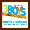 3 Boys and a Dog: Homemaking & Parenting Tips for Busy Folks