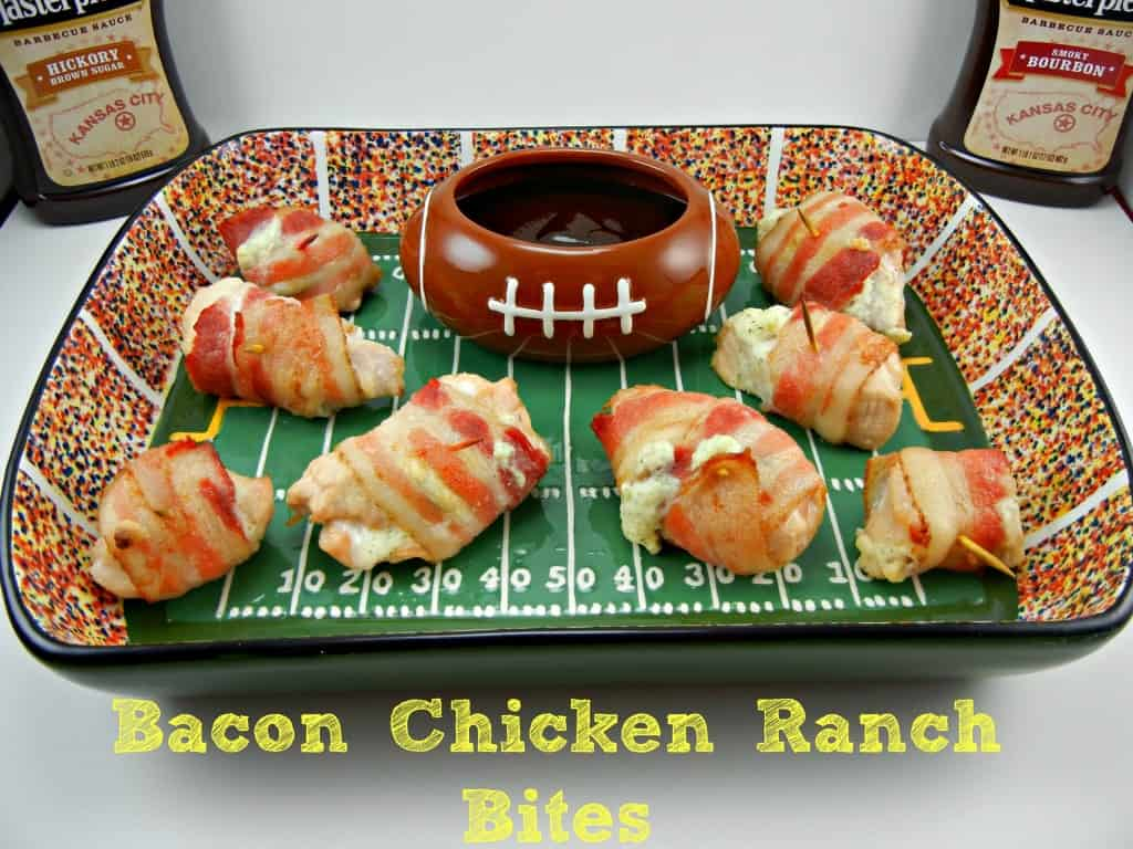 Bacon Chicken Ranch Bites on Southern Mom Cooks. #UltimateTailgatingParty