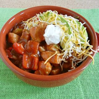 Chicken Fajita Chili