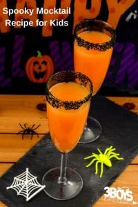 This Spooky Halloween Mocktail Recipe is very easy to throw together and you probably have all the ingredients on hand!
