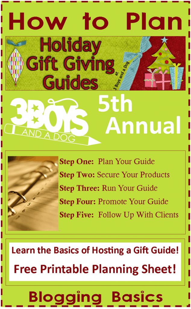 How to run holiday gift guides