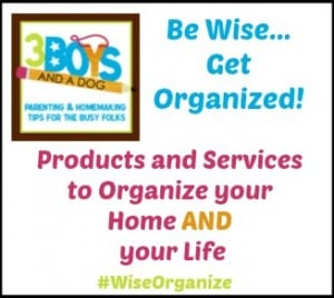 Have You Gotten Organized With #WiseOrganize?