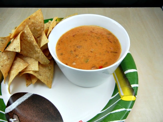 Tailgating Recipe - 3 Ingredient Rotel Dip on 3 Boys and a Dog. #UltimateTailgatingParty