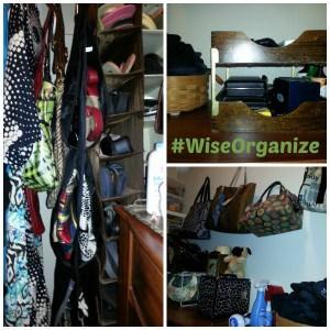 #WiseOrganize Closet