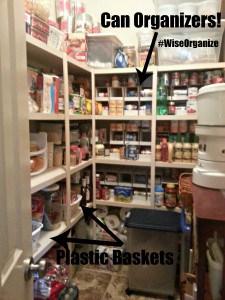 #WiseOrganize Pantry