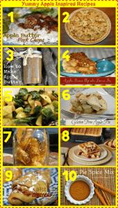 10 Yummy Apple Inspired Recipes