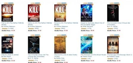 1.99 Kindle Deals