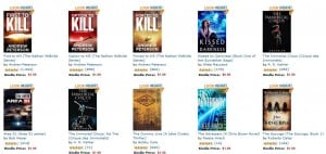 50 Books in Popular Series, $1.99 or Less