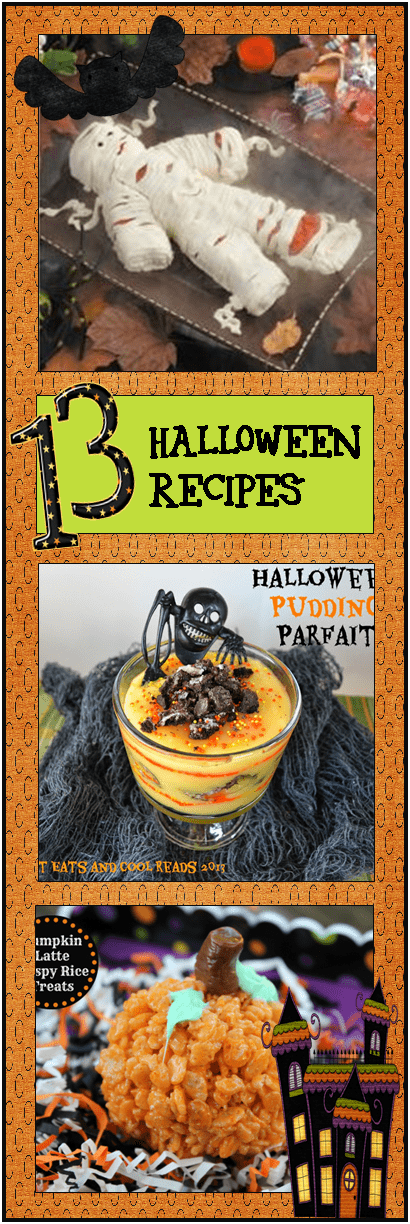 Over 13 Yummy Pinterest Halloween Recipes – 3 Boys and a Dog