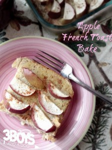 Breakfast: Overnight Apple French Toast Recipe