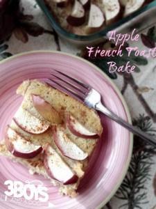 Breakfast: Overnight Apple French Toast Recipe