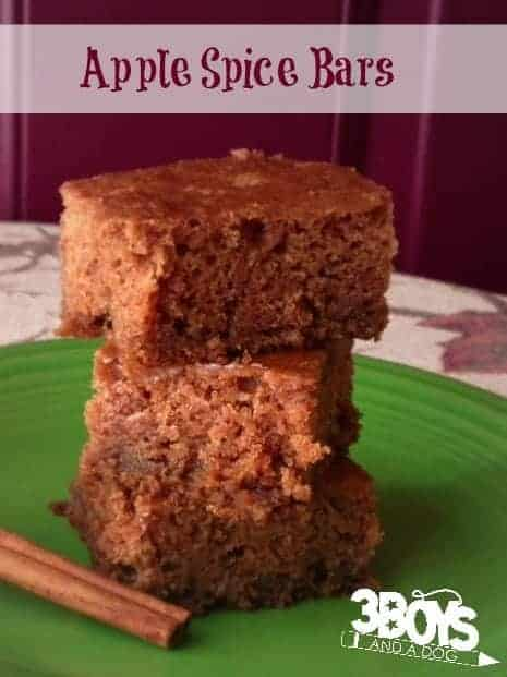 Fall Coffee Cake Bars