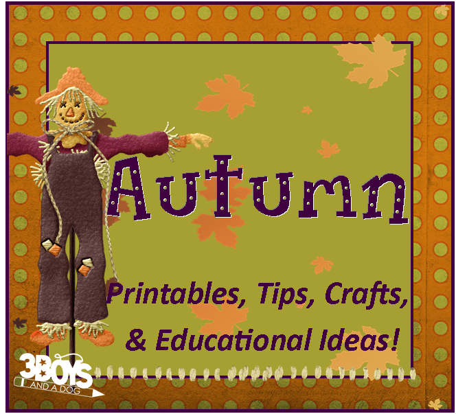 Fall Recipes, Printables, Tips, and Crafts