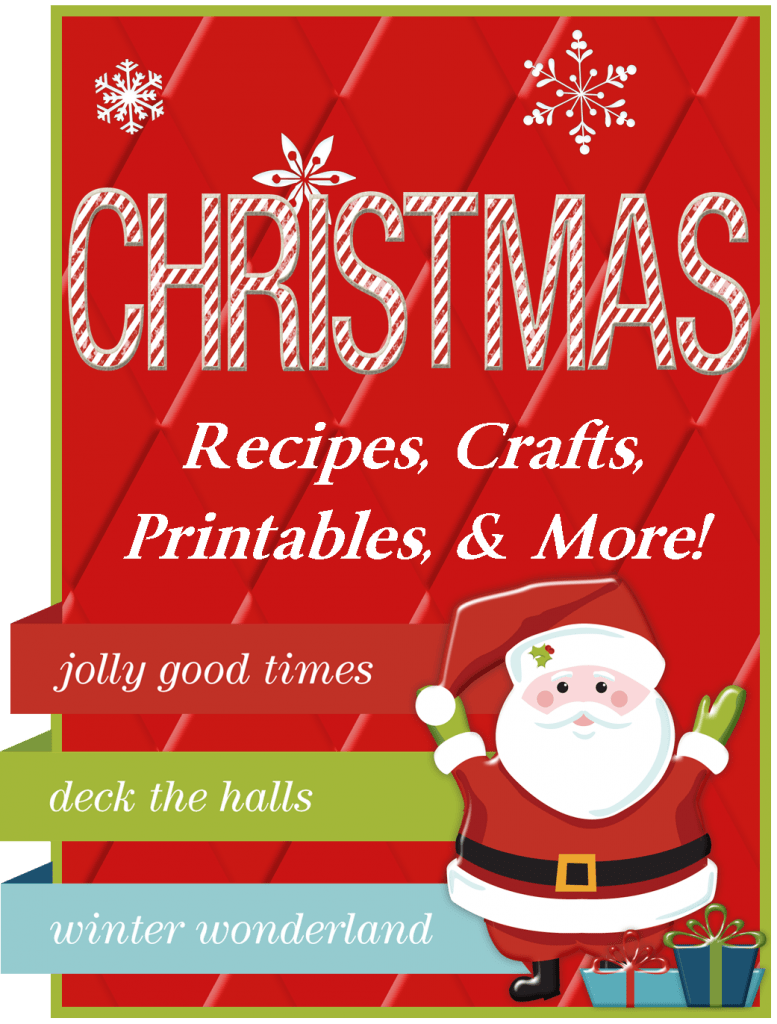All Christmas printables, recipes, tips, and even a holiday gift guide!
