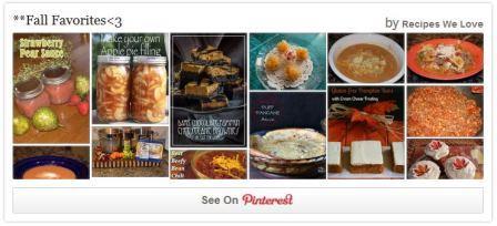 Fall Favorites on Pinterest