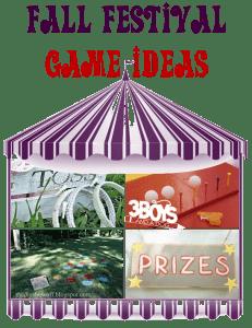Over 12 Fall Festival Game Ideas