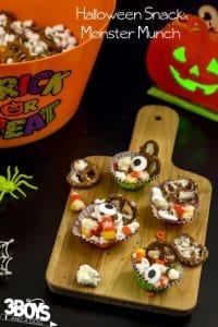 Crunchy Halloween Monster Munch