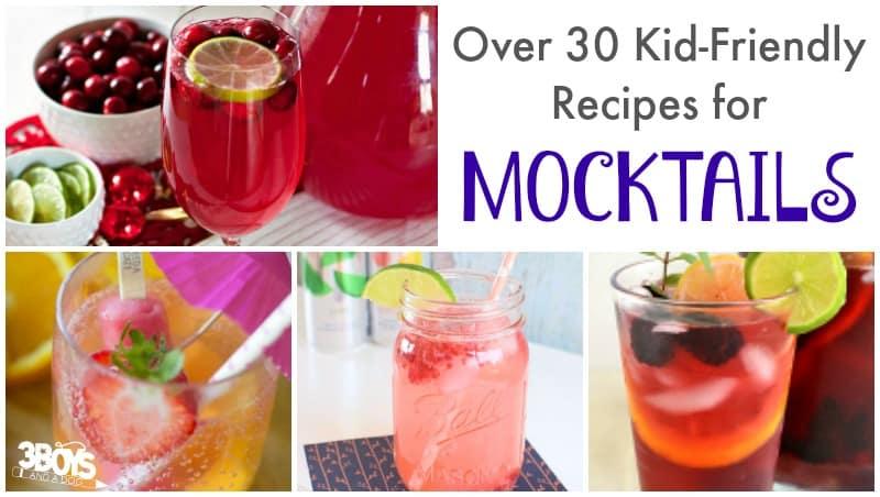 Kid Friendly Mocktail Recipes