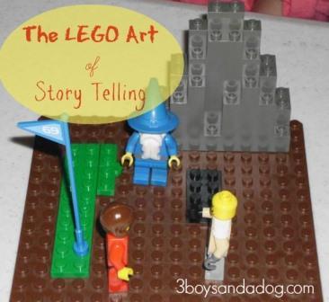 Lego story telling