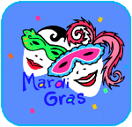 Activities, Printables, Recipies and Crafts for Mardi Gras