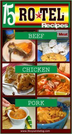 Rotel Recipes