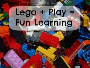 LEGO + Play = Fun Learning for Boys