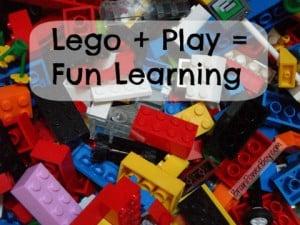 LEGO + Play = Fun Learning for Boys