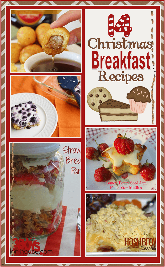 Sweet and Savory Recipes for Christmas Morning