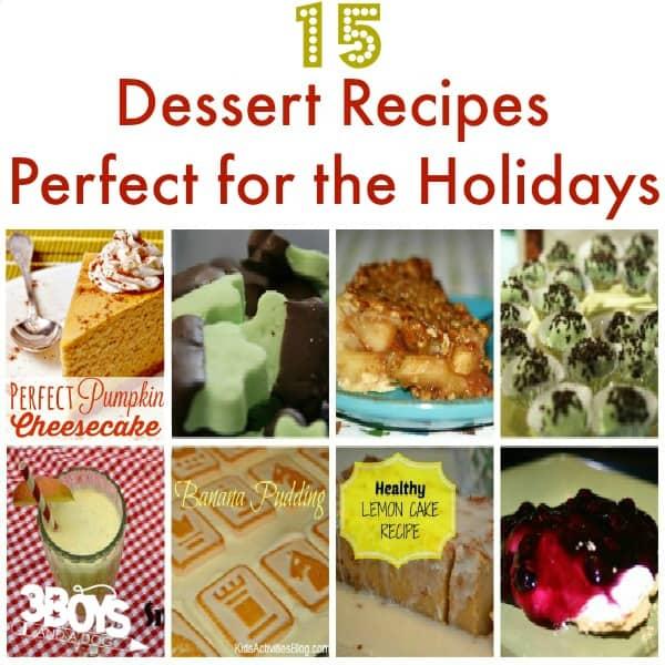 15 Holiday Dessert Recipes