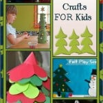 53 Christmas Tree Crafts for Kids