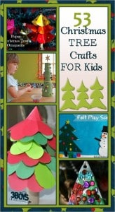 over 50 christmas tree crafts for kids