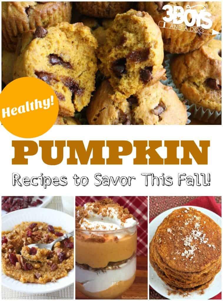 Healthy Pumpkin Recipes to Savor