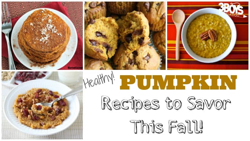 Healthy Pumpkin Recipes to Savor This Fall