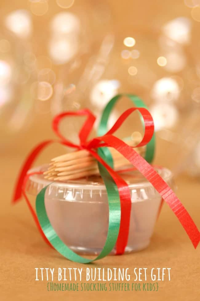 Homemade Gift for Kids - Stocking Stuffer
