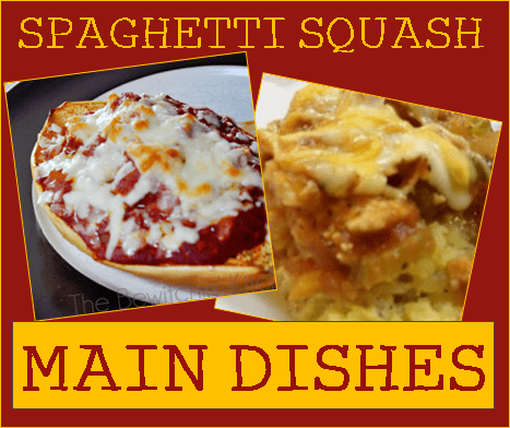 Spaghetti Squash Main Dishes