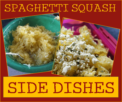 Spaghetti Squash Side Dishes