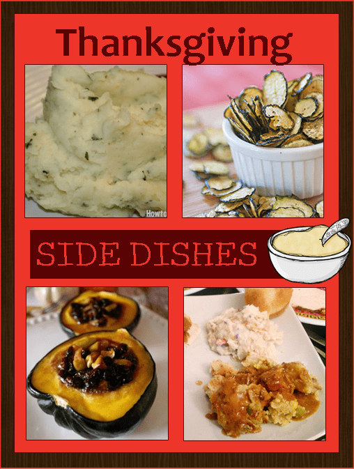 Tons of unique side dish recipes perfect for Thanksgiving