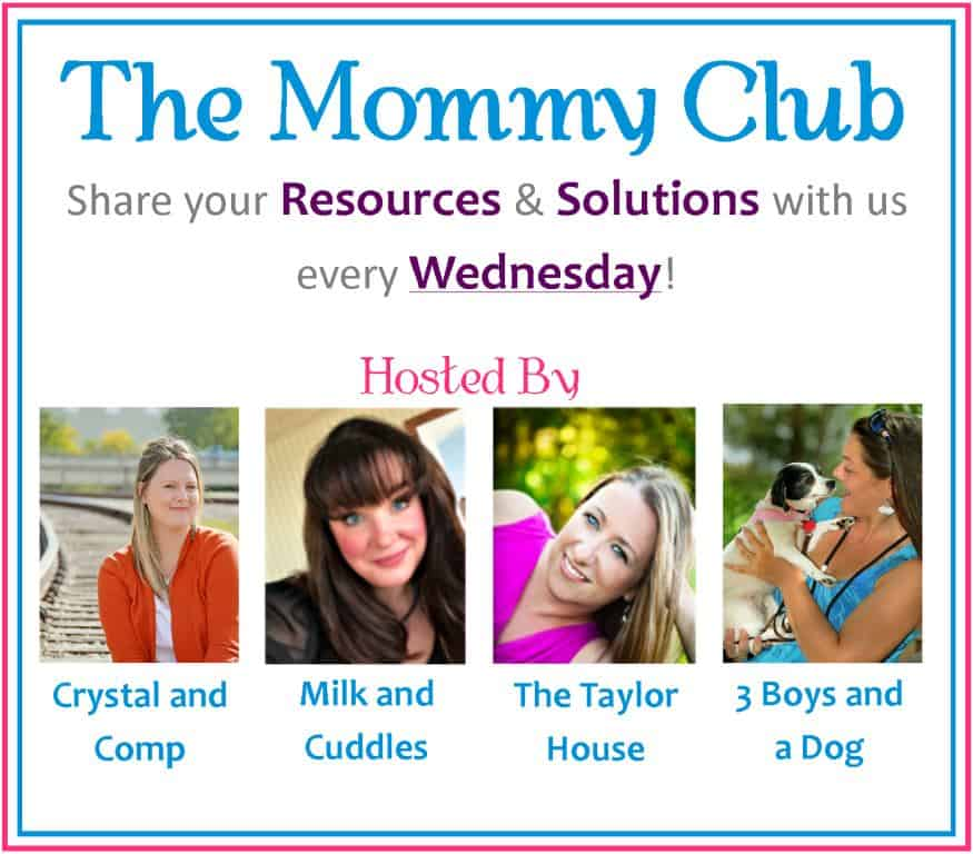 The Mommy Club Weekly Linky 2