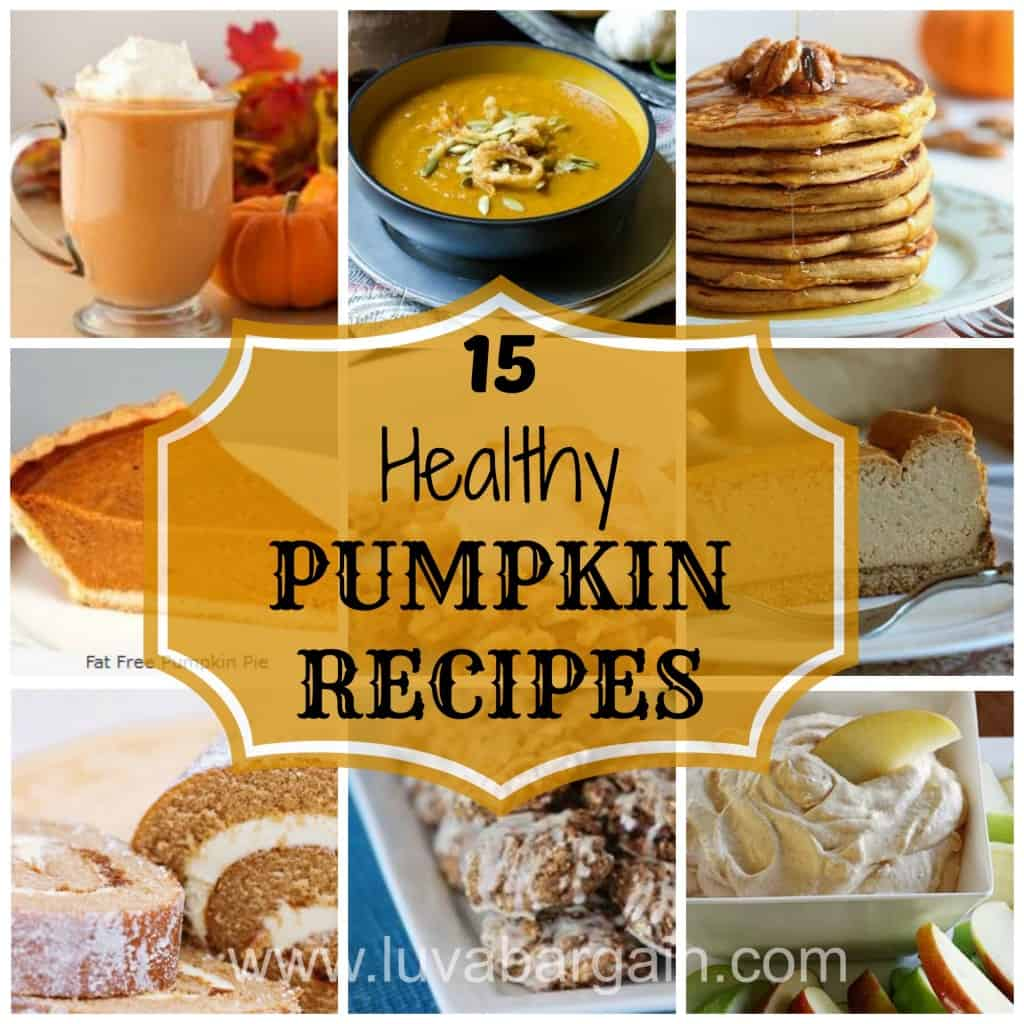 healthy pumpkin recipes 2