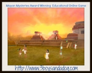 Mayan Mysteries Award Winning  Educational Online Game