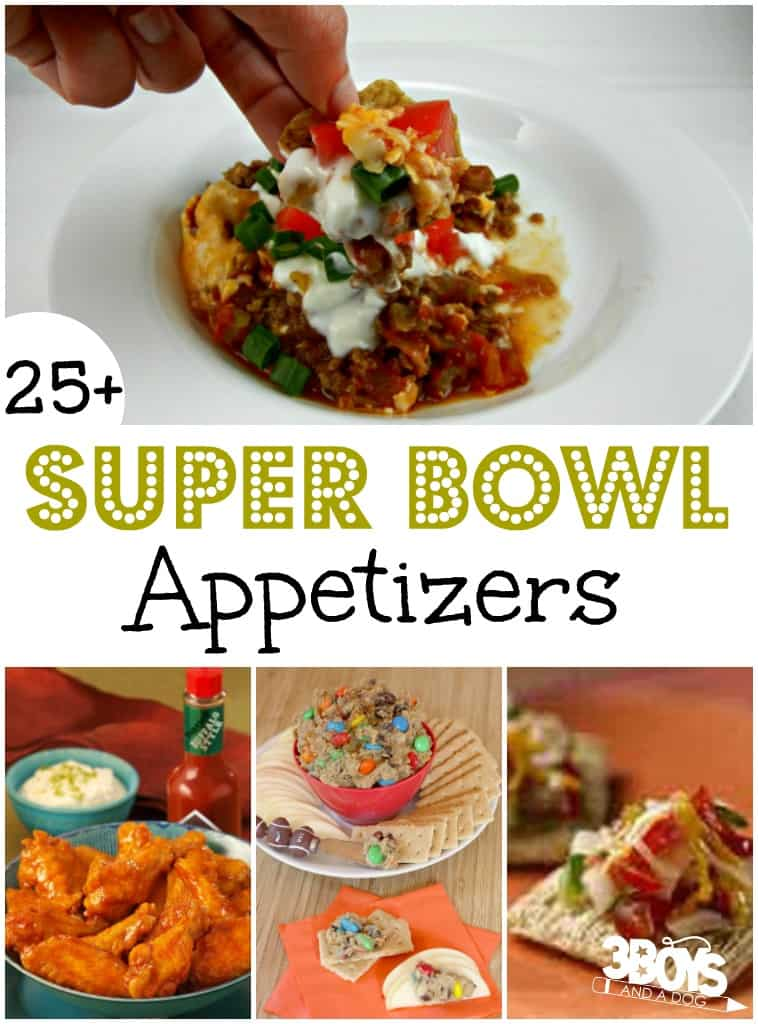 Over 25 Yummy Super Bowl Appetizers