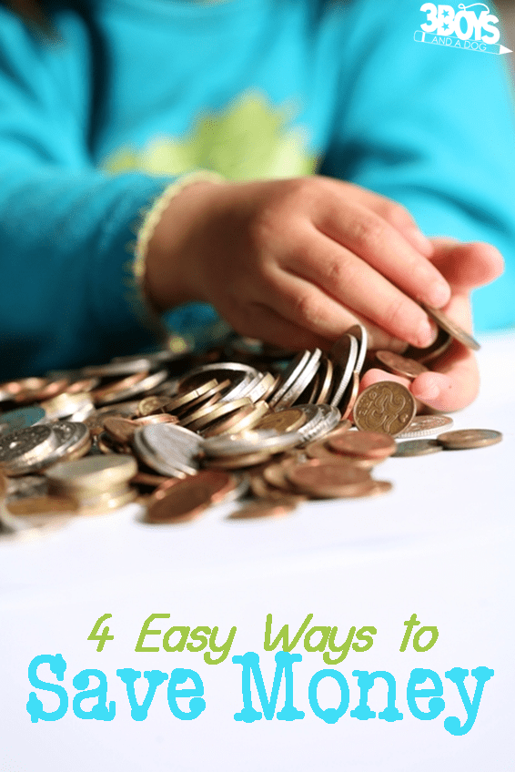 4 easy ways to save your family some money