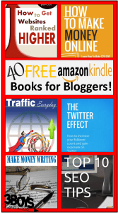 40 Free Kindle Books for Bloggers