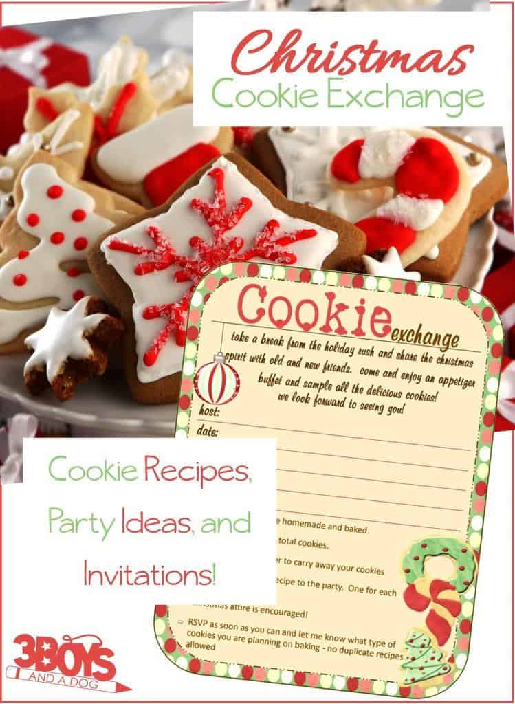 Christmas Cookie Exchange Party Planner